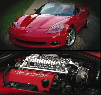 C6 Corvette Magnuson Supercharger Systems